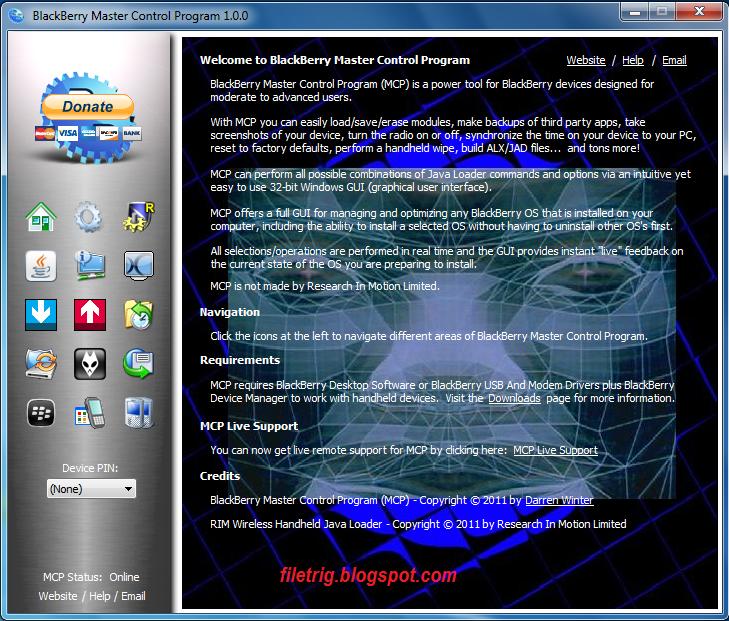 blackberry master control program 0.9.2.0 beta 5