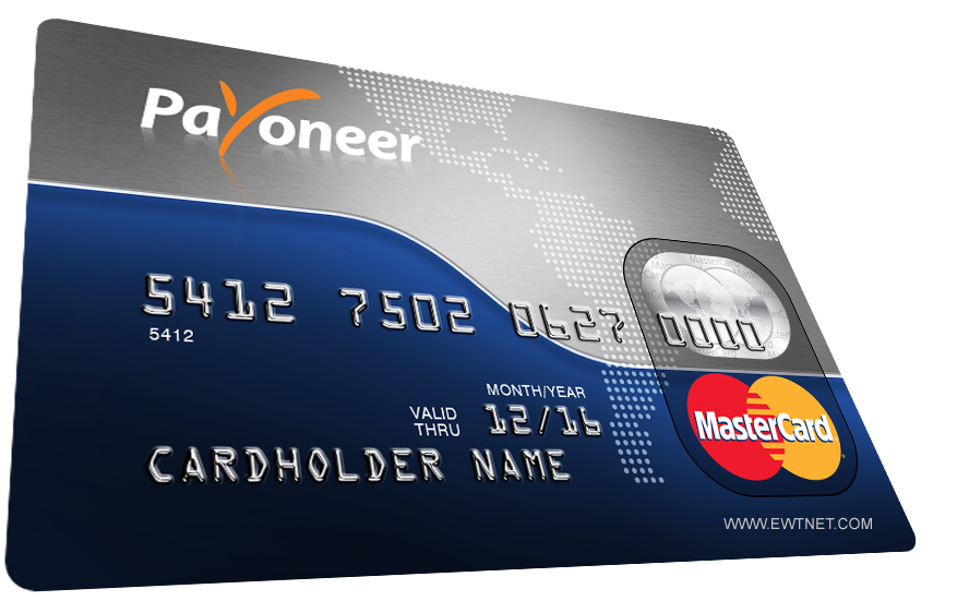 How to Get a Free MasterCard from Payoneer | US Bank ...